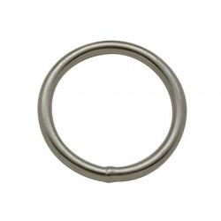 Anello rotondo in acciaio inossidabile 5 x 50 mm
