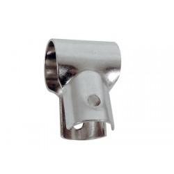 Connettore per corrimano a T aperto in acciaio inossidabile 22 mm