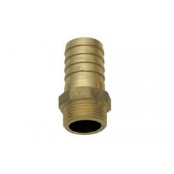 """Raccordo in ottone da maschio a tubo 1 / 2"""" x18 mm"""