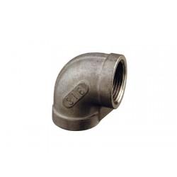Gomito 90 F - f in acciaio inox 316 3/4