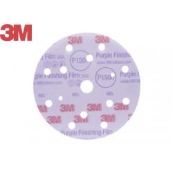 Dischi abrasivi finitura 3m 260l P800 150 mm