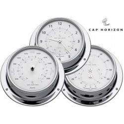 Thermo-Hygrometer Cap Horizon (di barigo) Chromed Brass 120mm