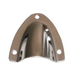Cuffia copriscarico in acciaio inox 60 mm