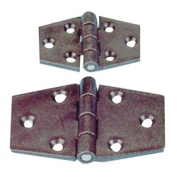 cerniera in nylon nero mm. 102x60