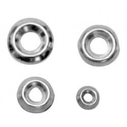 rondelle di finitura in acciaio inossidabile ø mm.4