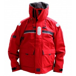 Giacca offshore rossa XM Yachting - XS